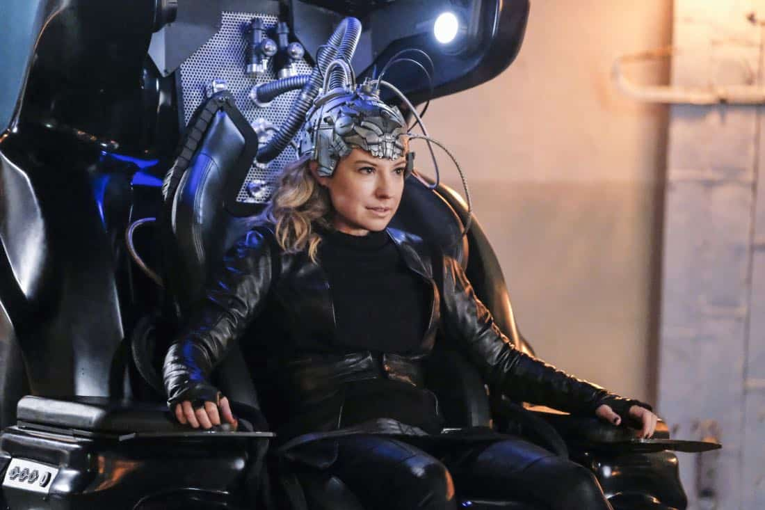 """The Flash -- """"Subject 9Ó -- Image Number: FLA414a_0344b.jpg -- Pictured: Sugar Lyn Beard as Becky/Hazard -- Photo: Bettina Strauss/The CW -- © 2018 The CW Network, LLC. All rights reserved"""