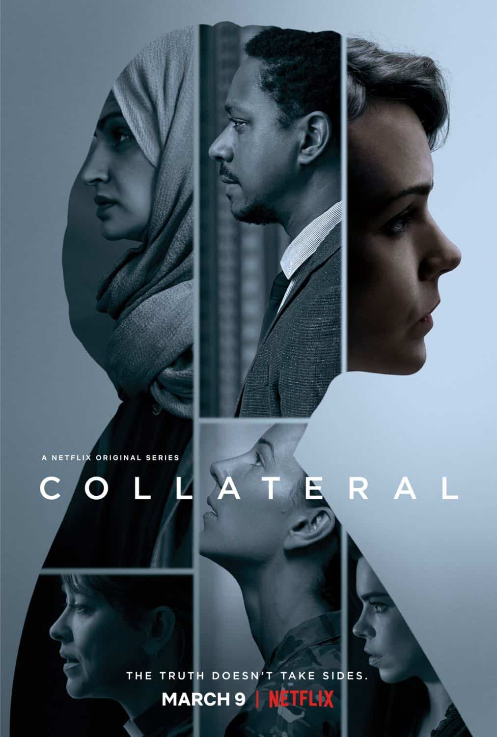 COLLATERAL Season 1 Poster Key Art