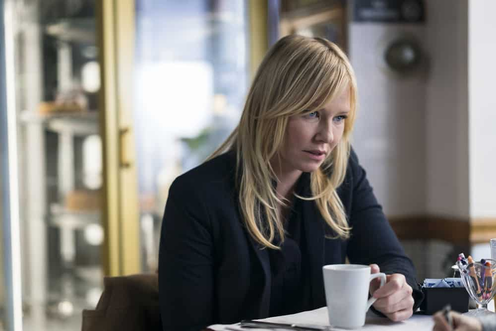 "LAW & ORDER: SPECIAL VICTIMS UNIT -- ""Chasing Demons"" Episode 1914 -- Pictured: Kelli Giddish as Detective Amanda Rollins -- (Photo by: Michael Parmelee/NBC)"