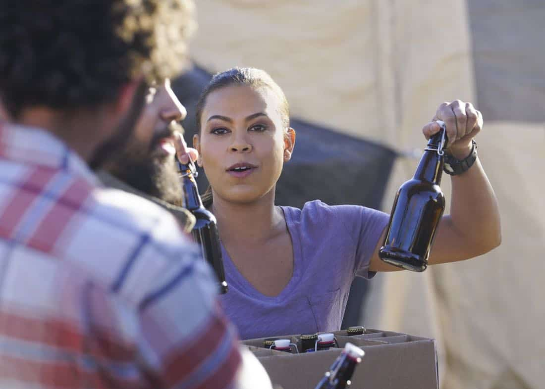 Call Out Ð Jason and the SEAL Team settle into deployment life and get closer to discovering who ambushed Echo Team after Mandy gets a productive lead from an unlikely source on the base, on SEAL TEAM, Wednesday, Feb 28th (9:00-10:00 PM, ET/PT) on the CBS Television Network. Pictured: Toni Trucks as Lisa Davis. Photo: Sonja Flemming/CBS©2017 CBS Broadcasting, Inc. All Rights Reserved