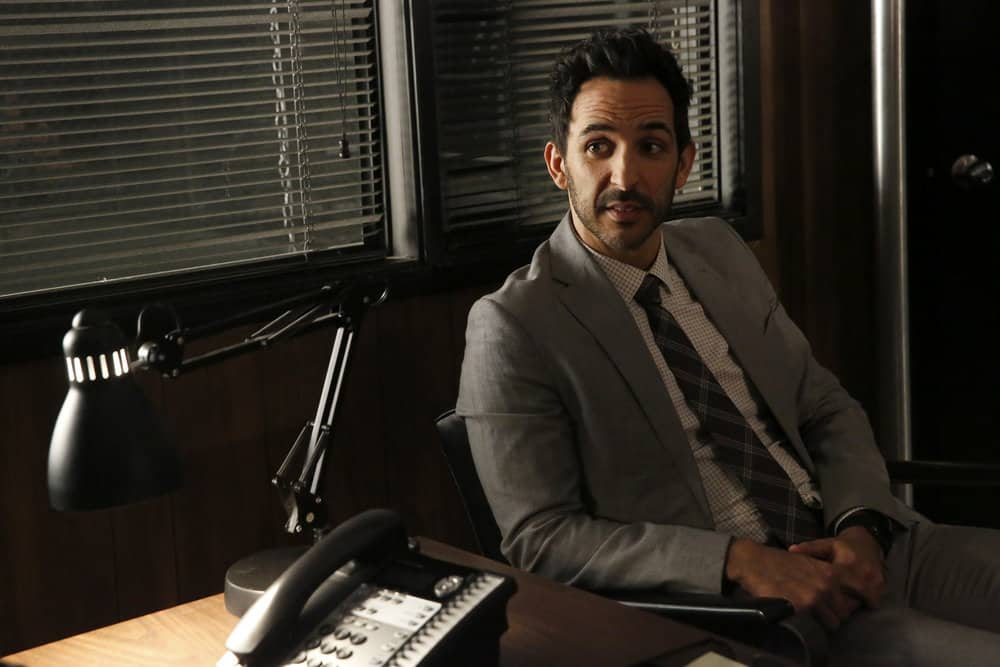 "THE BLACKLIST -- ""Pattie Sue Edwards (#68)"" Episode 515 -- Pictured: Amir Arison as Aram Mojtabai -- (Photo by: Will Hart/NBC)"