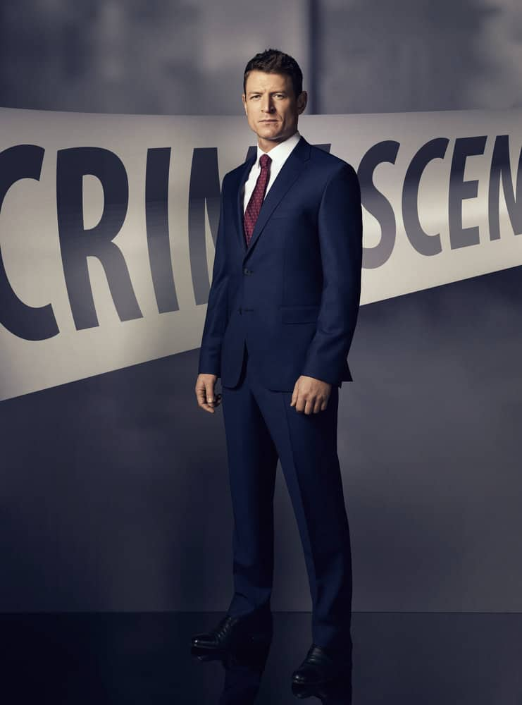 LAW & ORDER: SPECIAL VICTIMS UNIT -- Season 19 -- Pictured: Philip Winchester as Peter Stone -- (Photo by: Virginia Sherwood/NBC)
