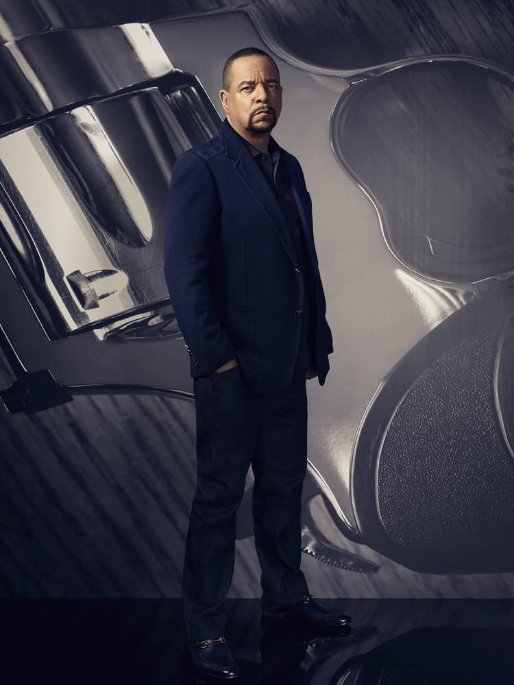 """LAW & ORDER: SPECIAL VICTIMS UNIT -- Season 19 -- Pictured: Ice T as Detective Odafin """"Fin"""" Tutuola -- (Photo by: Virginia Sherwood/NBC)"""