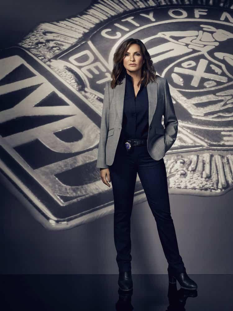 LAW & ORDER: SPECIAL VICTIMS UNIT -- Season 19 -- Pictured: Mariska Hargitay as Lieutenant Olivia Benson -- (Photo by: Virginia Sherwood/NBC)