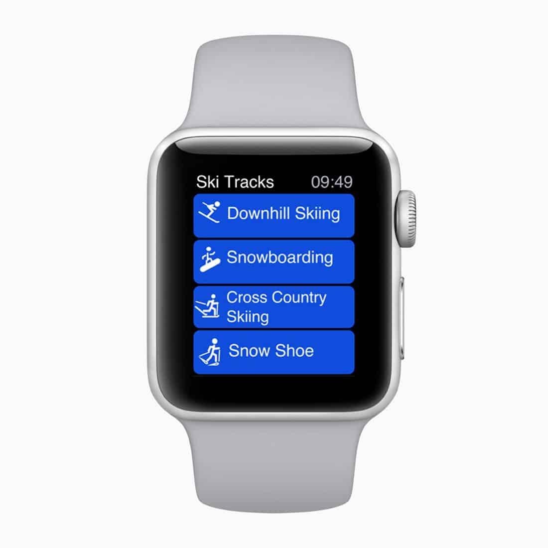 Apple Watch Series 3 ski tracks 20282018