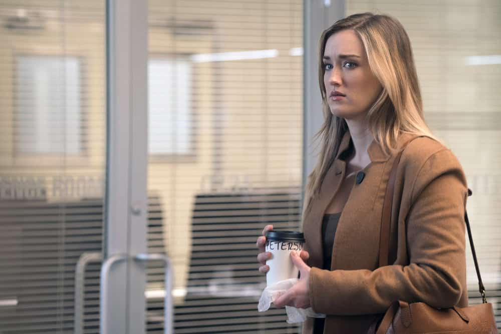 "BLINDSPOT -- ""Everlasting"" Episode 314 -- Pictured: Ashley Johnson as Patterson -- (Photo by: Barbara Nitke/NBC)"