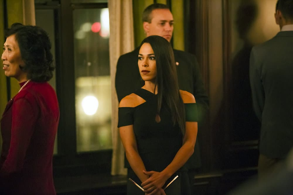 "TAKEN -- ""Charm School"" Episode 206 -- Pictured: Jessica Camacho as Santana -- (Photo by Jan Thijs/NBC)"
