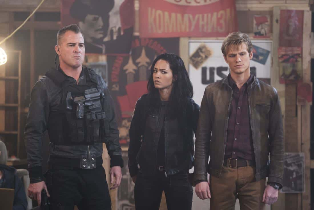 MacGyver Episode 17 Season 2 Bear Trap Mob Boss 6
