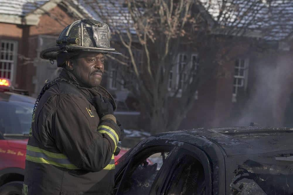 "CHICAGO FIRE -- ""Hiding Not Seeking"" Episode 613 -- Pictured: Eamonn Walker as Wallace Boden -- (Photo by: Elizabeth Morris/NBC)"