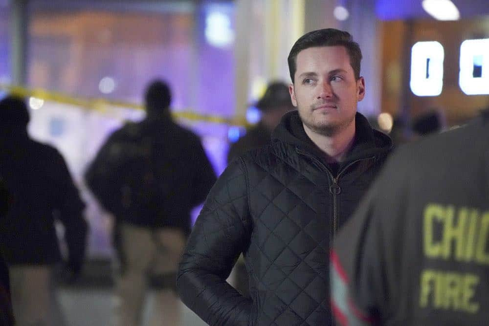 "CHICAGO FIRE -- ""Hiding Not Seeking"" Episode 613 -- Pictured: Jesse Lee Soffer as Jay Halstead -- (Photo by: Elizabeth Morris/NBC)"