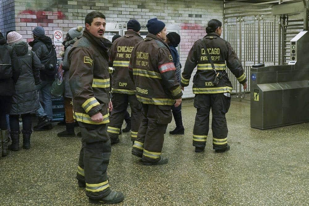 "CHICAGO FIRE -- ""Hiding Not Seeking"" Episode 613 -- Pictured: Yuri Sardarov as Otis -- (Photo by: Elizabeth Morris/NBC)"
