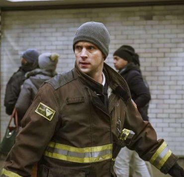 "CHICAGO FIRE -- ""Hiding Not Seeking"" Episode 613 -- Pictured: Jesse Spencer as Matthew Casey -- (Photo by: Elizabeth Morris/NBC)"