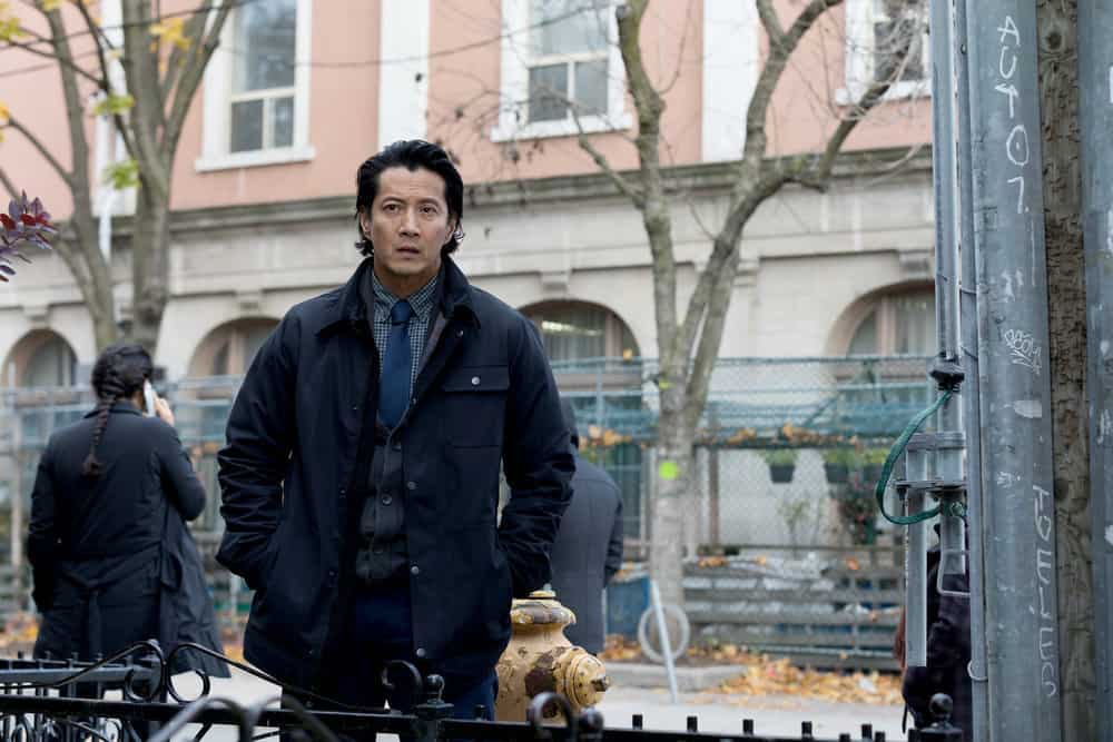 """FALLING WATER -- """"Risk Assessment"""" Episode 209 -- Pictured: Will Yun Lee as Taka -- (Photo by: Iden Ford/USA Network)"""