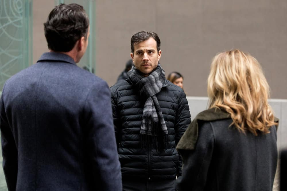 "FALLING WATER -- ""Risk Assessment"" Episode 209 -- Pictured: Kristopher Turner as Jeremy Connors -- (Photo by: Iden Ford/USA Network)"