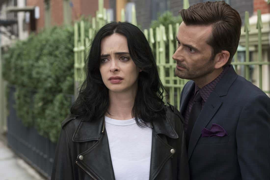 Krysten Ritter and David Tennant Marvel's Jessica Jones Season 2 | Photo Credit : David Giesbrecht/Netflix