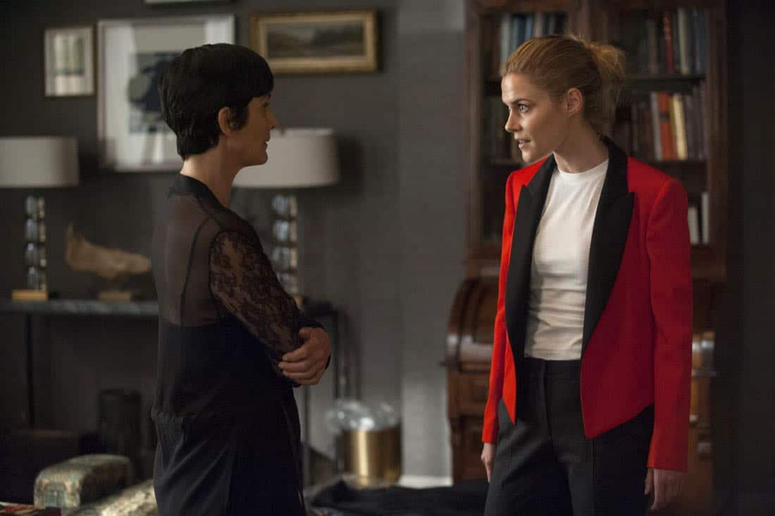 Carrie-Anne Moss, Rachael Taylor Marvel's Jessica Jones Season 2 | Photo Credit : Abbot Genser/Netflix
