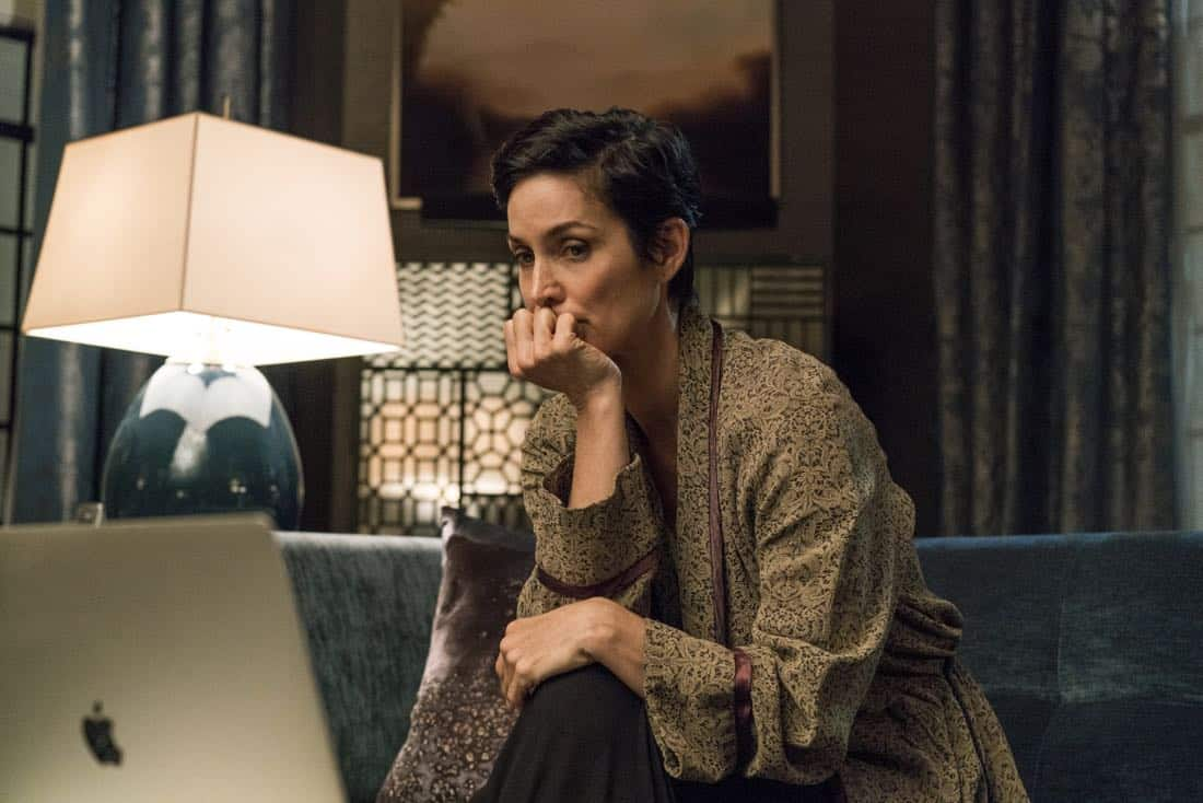 Carrie-Anne Moss Marvel's Jessica Jones Season 2 | Photo Credit : David Giesbrecht/Netflix