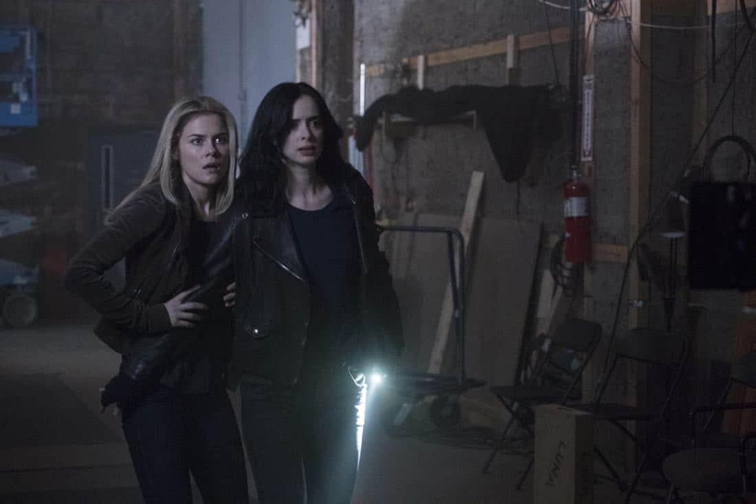 Rachael Taylor and Krysten Ritter Marvel's Jessica Jones Season 2 | Photo Credit : David Giesbrecht/Netflix
