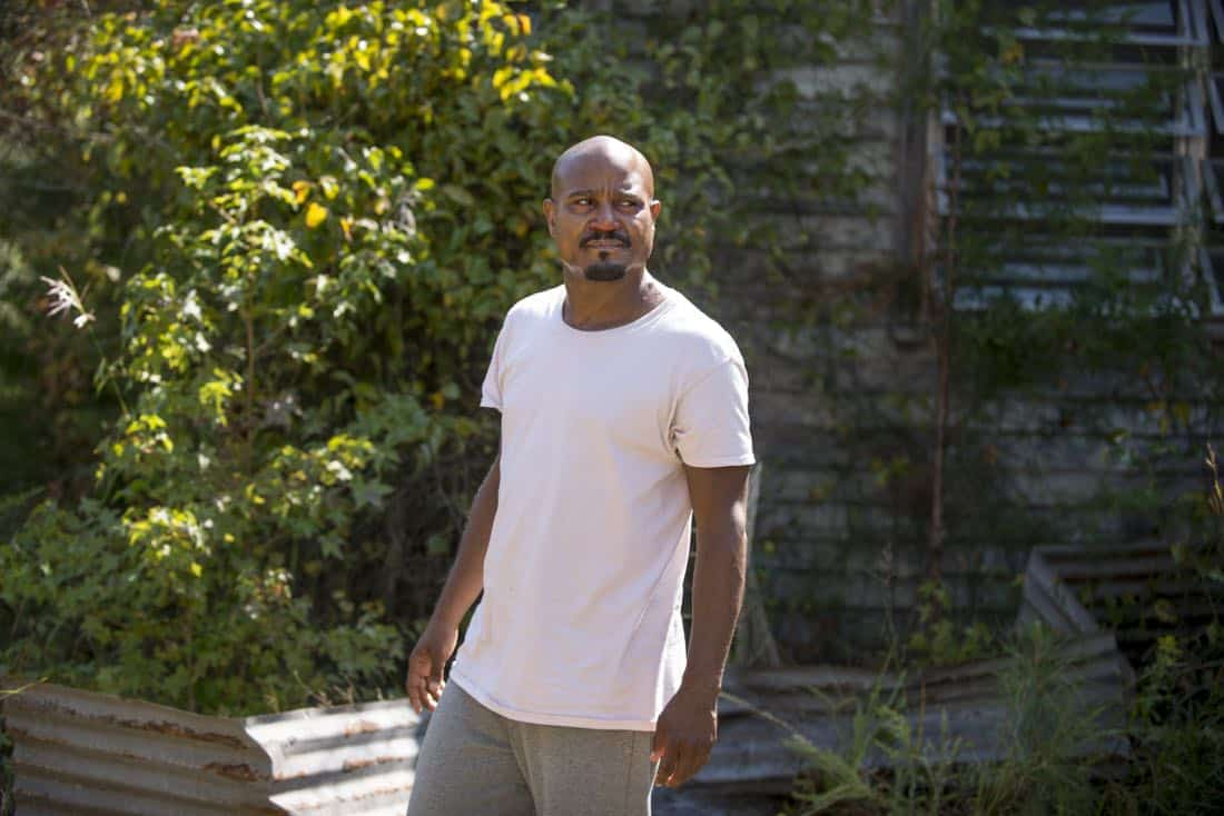 Seth Gilliam as Father Gabriel Stokes; single - The Walking Dead _ Season 8, Episode 11 - Photo Credit: Gene Page/AMC