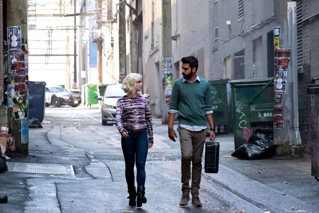 "iZombie -- ""Brainless in Seattle, Part 1"" -- Image Number: ZMB403a_0004.jpg -- Pictured (L-R): Rose McIver as Liv and Rahul Kohli as Ravi -- Photo: Katie Yu/The CW -- © 2018 The CW Network, LLC. All Rights Reserved."