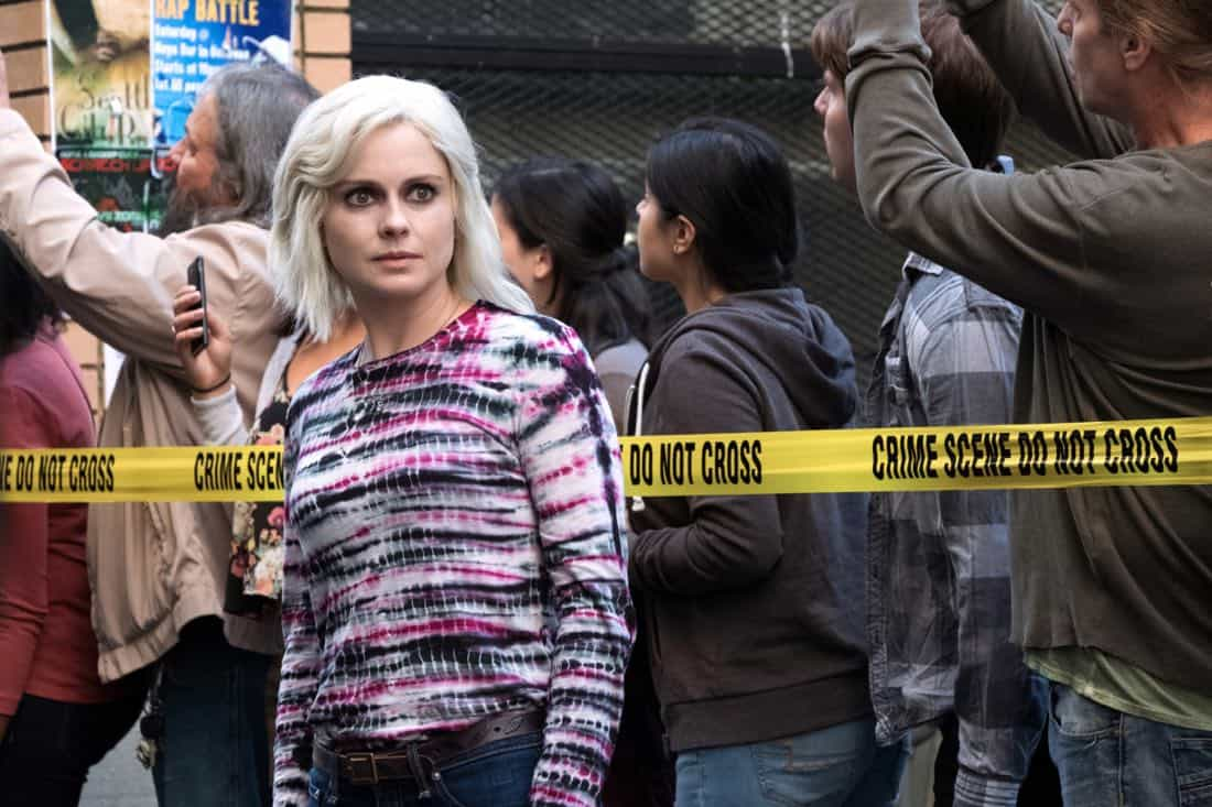"iZombie -- ""Brainless in Seattle, Part 1"" -- Image Number: ZMB403a_0051.jpg -- Pictured: Rose McIver as Liv -- Photo: Katie Yu/The CW -- © 2018 The CW Network, LLC. All Rights Reserved."