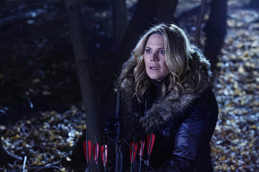 "FALLING WATER -- ""The Art of the Deal"" Episode 210 -- Pictured: Mary McCormack as Taylor Bennett -- (Photo by: Ben Mark Holzberg/USA Network)"