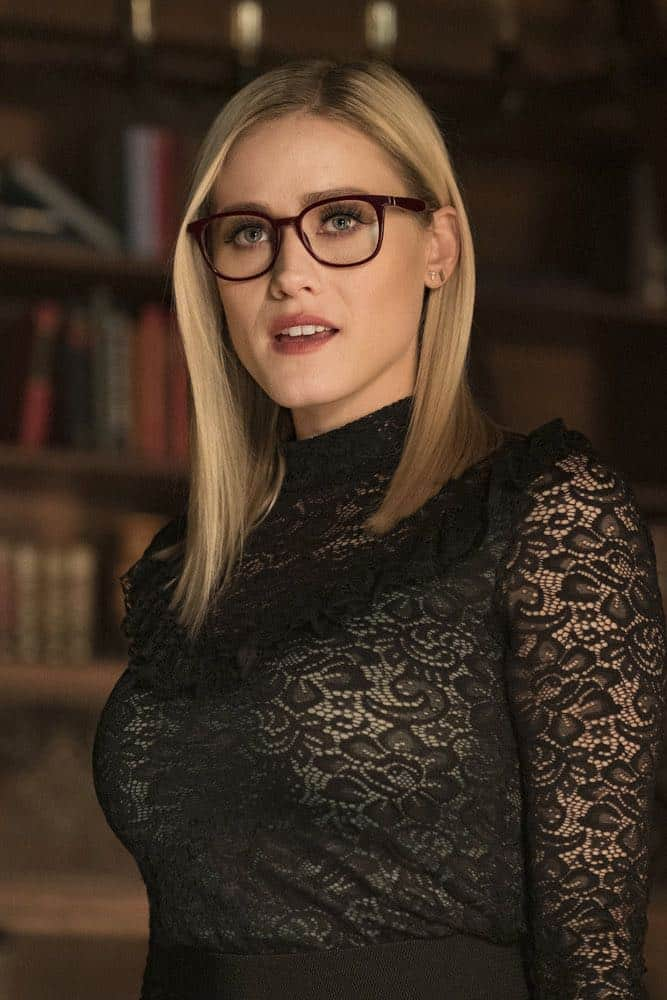 "THE MAGICIANS -- ""All That Josh"" Episode 309 -- Pictured: Olivia Taylor Dudley as Alice -- (Photo by: Eric Milner/Syfy)"