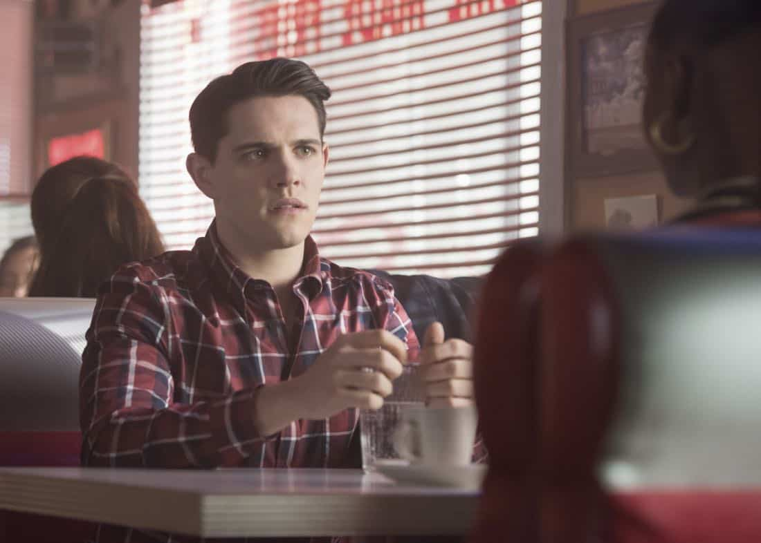 """Riverdale -- """"Chapter Twenty-Seven: The Hills Have Eyes"""" -- Image Number: RVD214a_0028.jpg -- Pictured: Casey Cott as Kevin -- Photo: Dean Buscher/The CW -- © 2018 The CW Network, LLC. All rights reserved."""