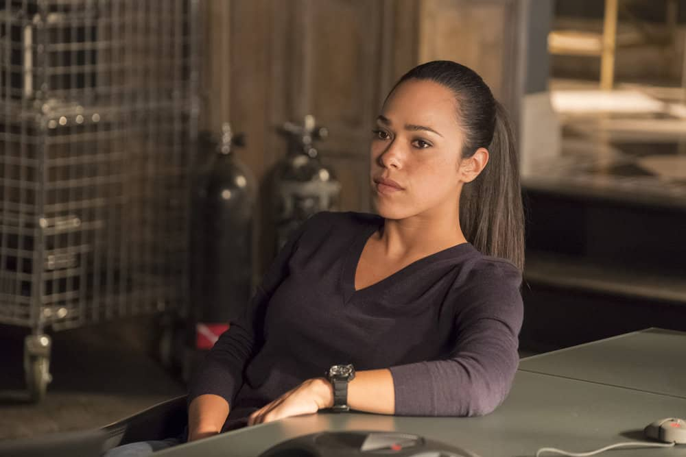 "TAKEN -- ""Invitation Only"" Episode 207 -- Pictured: Jessica Camacho as Santana -- (Photo by: Panagiotis Pantazidis/NBC)"