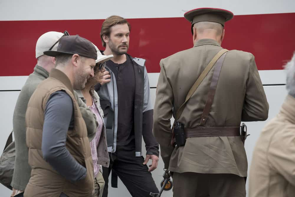 "TAKEN -- ""Invitation Only"" Episode 207 -- Pictured: Clive Standen as Bryan Mills -- (Photo by: Panagiotis Pantazidis/NBC)"