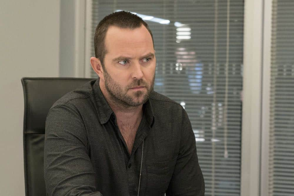 "BLINDSPOT -- ""Deductions"" Episode 315 --  Pictured: Sullivan Stapeleton as Kurt Weller -- (Photo by: David Giesbrecht/NBC)"