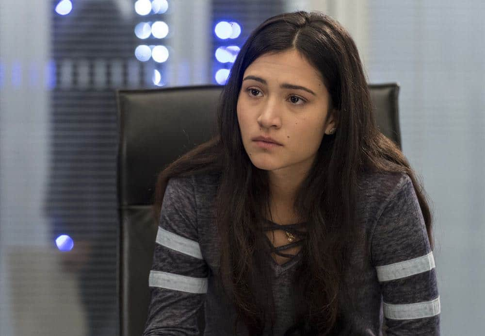 "BLINDSPOT -- ""Deductions"" Episode 315 --  Pictured: Kristina Reyes as Avery -- (Photo by: David Giesbrecht/NBC)"