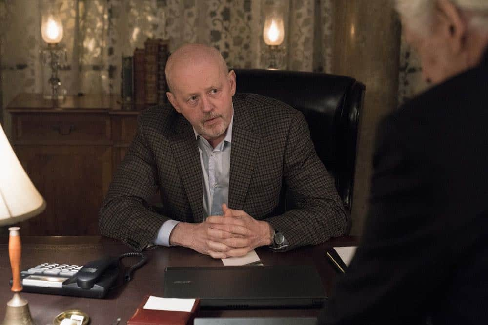 "BLINDSPOT -- ""Deductions"" Episode 315 --  Pictured: David Morse as Hank Crawford -- (Photo by: David Giesbrecht/NBC)"
