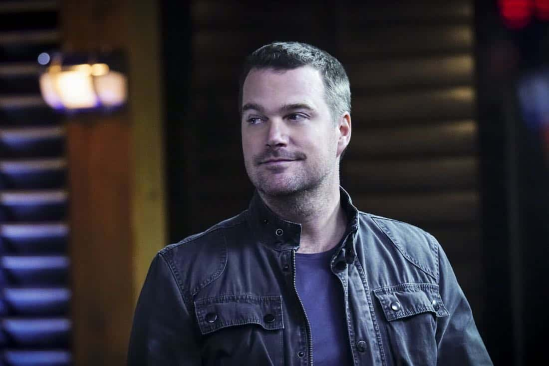 """""""Liabilities"""" - Pictured: Chris O'Donnell (Special Agent G. Callen). Callen and Sam pull Granger's daughter, former spy Jennifer Kim (Malese Jow), from witness protection to help the team locate an underground spy who has obtained an arsenal of bomb materials, on NCIS: LOS ANGELES, Sunday, March 18 (9:00-10:00 PM, ET/PT) on the CBS Television Network. Photo: Monty Brinton/CBS ©2017 CBS Broadcasting, Inc. All Rights Reserved."""