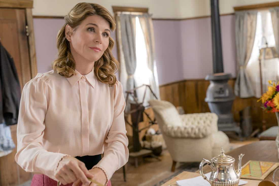 Jack and Elizabeth's plan to get married is put in serious jeopardy.  Bill has difficulties transporting a prisoner.  Photo: Lori Loughlin  Credit: Copyright 2018 Crown Media United States LLC/Photographer: Ricardo Hubbs
