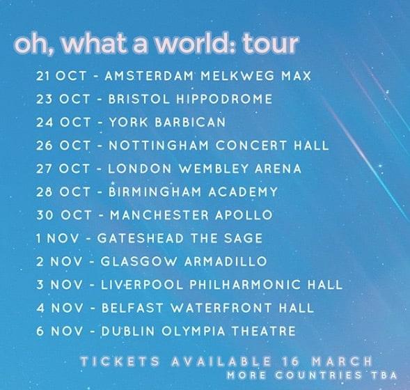 Kacey Musgraves Tour Europe