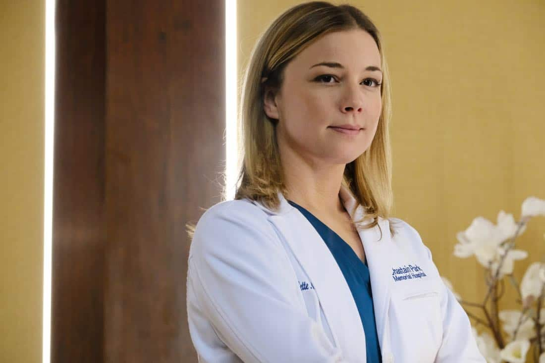 "THE RESIDENT:  Emily VanCamp in the ""Family Affair"" episode of THE RESIDENT airing Monday, March 19 (9:00-10:00 PM ET/PT) on FOX.  ©2018 Fox Broadcasting Co.  Cr:  Guy D'Alema/FOX"