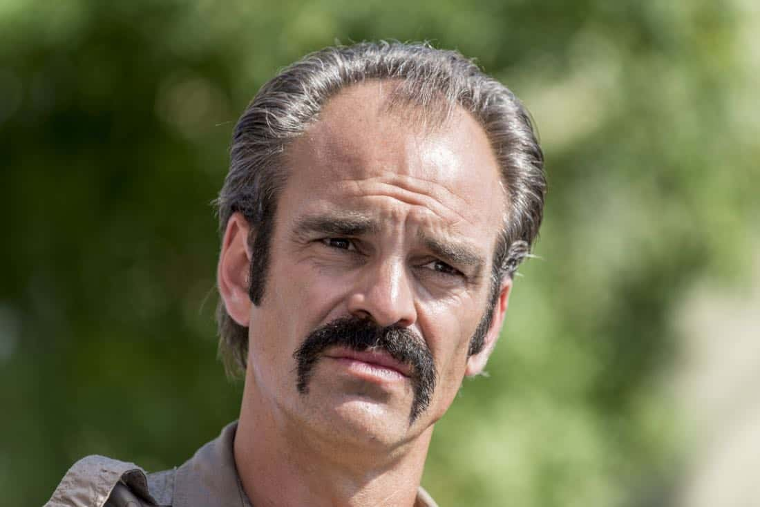 Steven Ogg as Simon - The Walking Dead _ Season 8, Episode 12 - Photo Credit: Gene Page/AMC