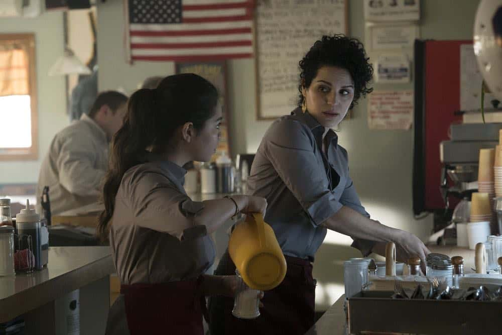 "RISE -- ""Pilot"" Episode 101 -- Pictured: (l-r) Auli'i Cravalho as Lilette Suarez, Shirley Rumierk as Vanessa Suarez -- (Photo by: Peter Kramer/NBC)"