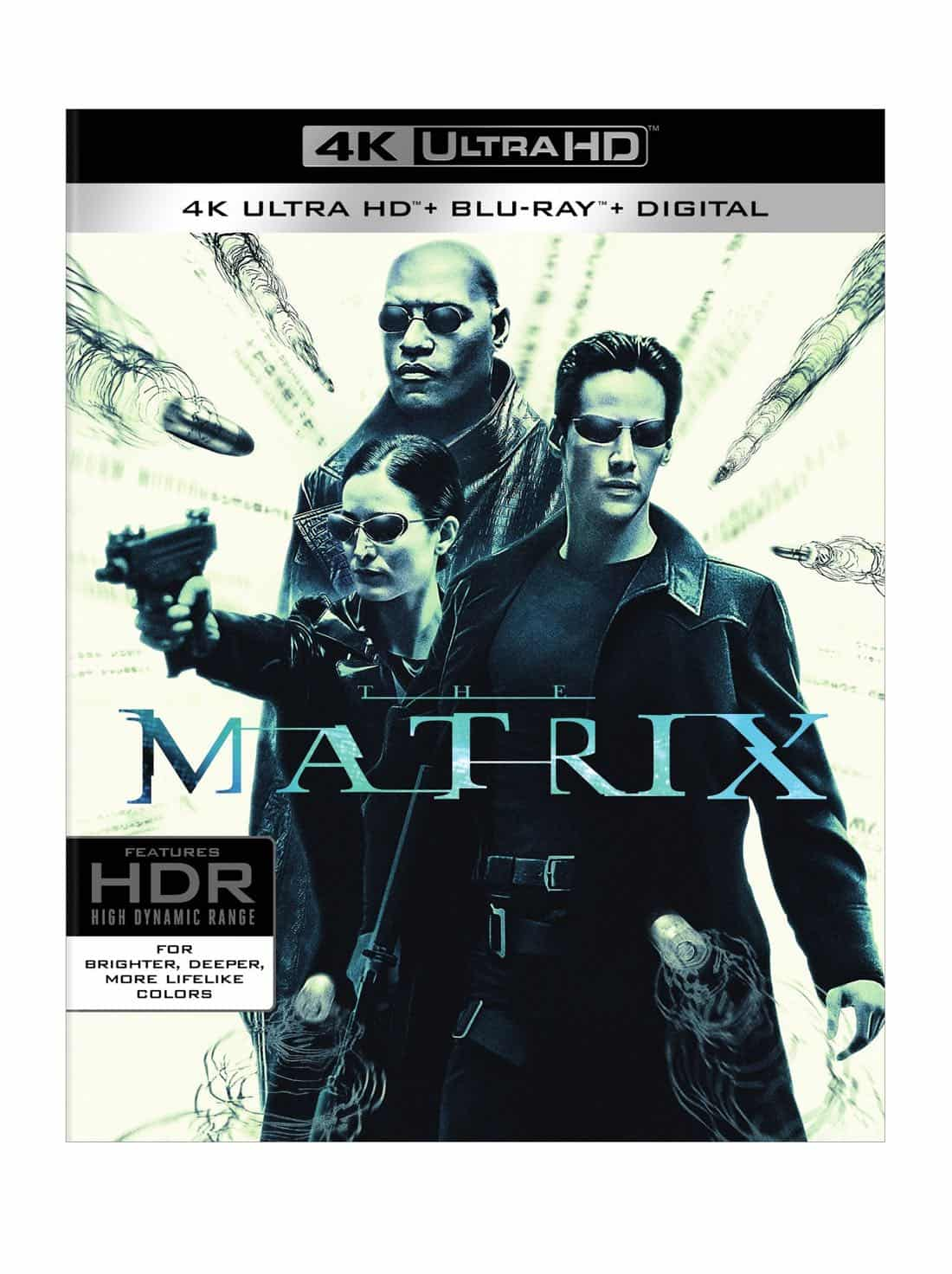The Matrix 4K Ultra HD + Blu-ray + Digital