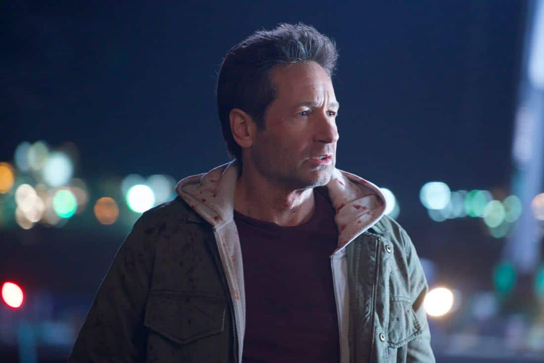 "THE X-FILES: David Duchovny in the ""My Struggle IV"" season finale episode of THE X-FILES airing Wednesday, March 21 (8:00-9:00 PM ET/PT) on FOX. ©2018 Fox Broadcasting Co.  Cr:  Shane Harvey/FOX"