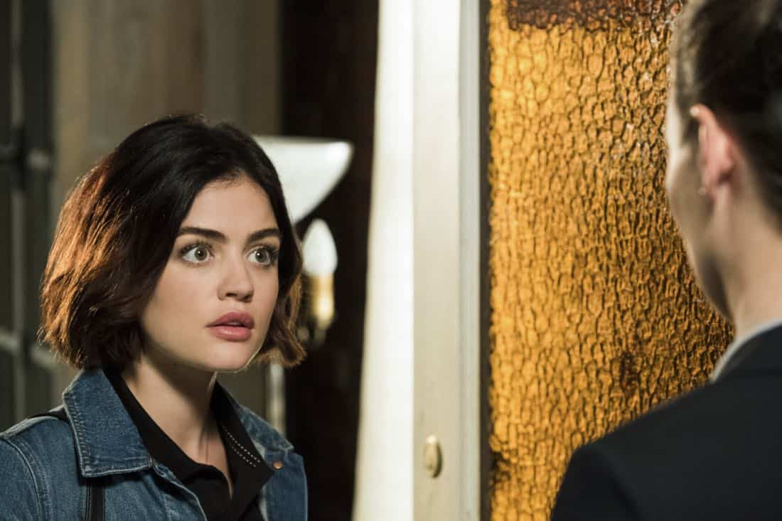 """Life Sentence -- """"Re-Inventing the Abbotts"""" -- Image Number: LFS102a_070b.jpg -- Pictured: Lucy Hale as Stella -- Photo: Eric Milner/The CW -- © 2018 The CW Network, LLC. All Rights Reserved."""