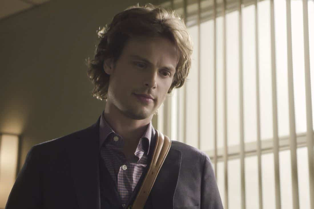 ÒThe CapilanosÓ Ð The BAU is called to Oklahoma to investigate a murderous clown terrorizing the sleepy town of Guymon, on CRIMINAL MINDS, Wednesday, March 21 (10:00-11:00 PM, ET/PT) on the CBS Television Network.  Pictured: Matthew Gray Gubler (Dr. Spencer Reid)   Photo: Best Screen Grab Available ©2018 CBS Broadcasting, Inc. All Rights Reserved