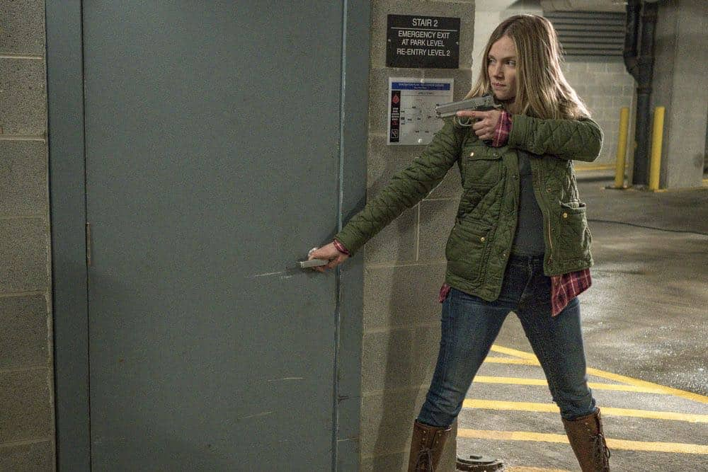 "CHICAGO P.D. -- ""Ghosts"" Episode 518 -- Pictured: Tracy Spiridakos as Hailey Upton -- (Photo by: Matt Dinerstein/NBC)"