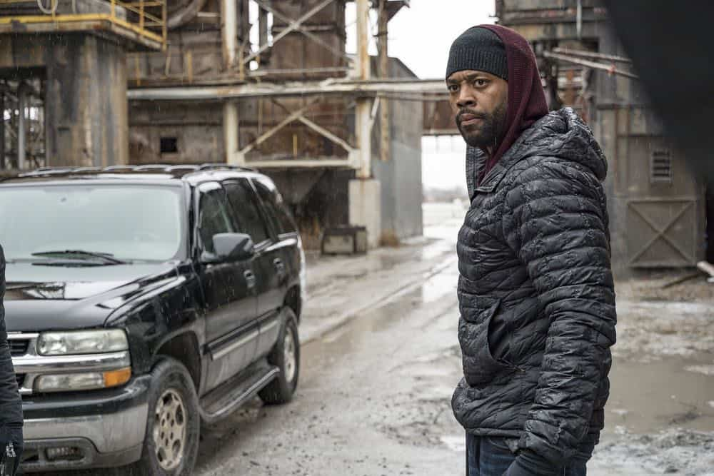 "CHICAGO P.D. -- ""Ghosts"" Episode 518 -- Pictured: LaRoyce Hawkins as Kevin Atwater -- (Photo by: Matt Dinerstein/NBC)"