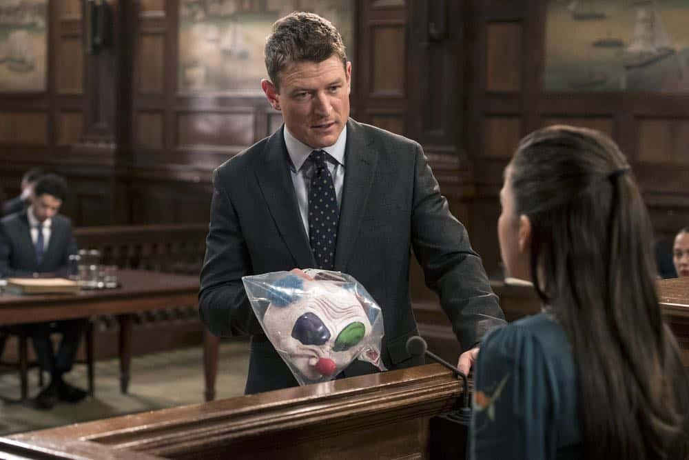 "LAW & ORDER: SPECIAL VICTIMS UNIT -- ""Send in the Clowns"" Episode 1917 -- Pictured: Philip Winchester as Peter Stone -- (Photo by: David Giesbrecht/NBC)"