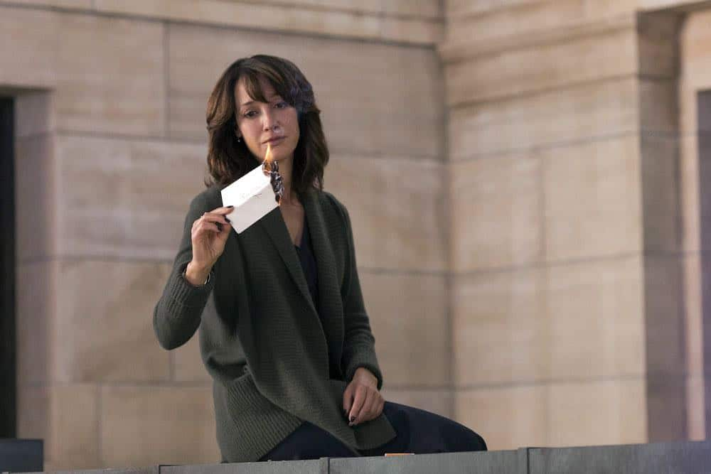 "TAKEN -- ""Strelochnik"" Episode 208 -- Pictured: Jennifer Beals as Christina Hart -- (Photo by: Panagiotis Pantazidis/NBC)"