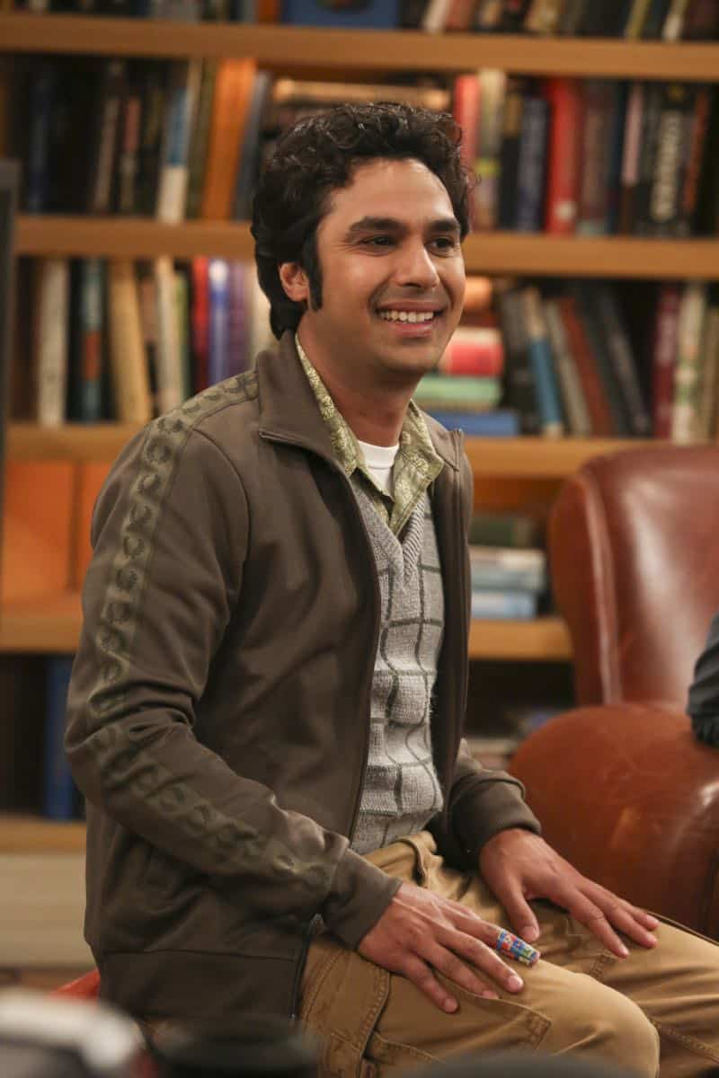"""The Tenant Disassociation"" - Pictured: Rajesh Koothrappali (Kunal Nayyar). When Leonard learns Sheldon is the president of the tenants association, he decides to run against him. Also, Bernadette encourages Wolowitz and Koothrappali to find the owner of a drone after they find it in the backyard, on THE BIG BANG THEORY, Thursday, April 5 (8:00-8:31 PM, ET/PT) on the CBS Television Network. Photo: Michael Yarish/Warner Bros. Entertainment Inc. © 2018 WBEI. All rights reserved."