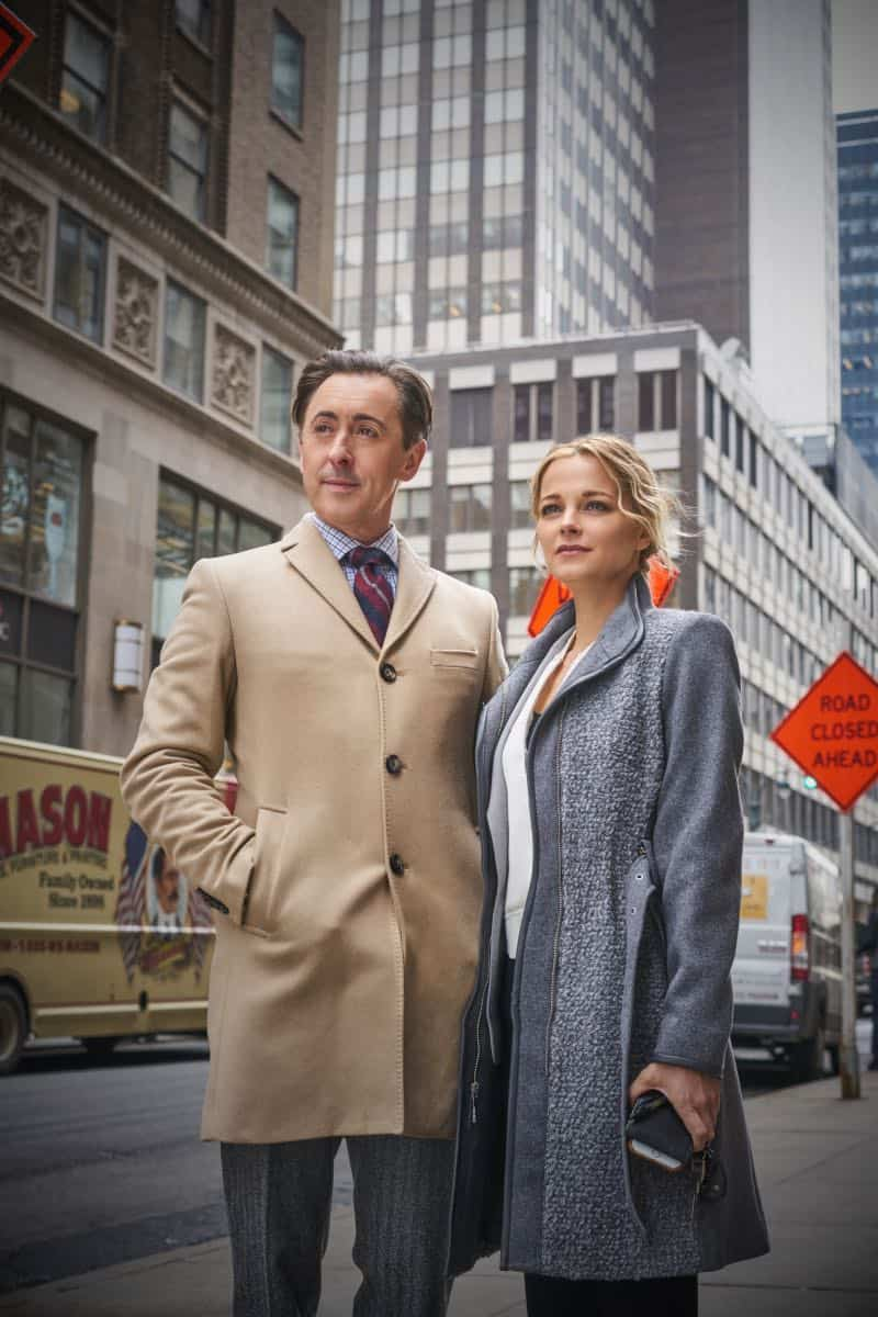 """Pilot"" -- Former CIA operative Dr. Dylan Reinhart (Alan Cumming) is lured back to his old life when NYPD detective Lizzie Needham (Bojana Novakovic) needs his help to stop a serial killer, on the series premiere of INSTINCT, Sunday, March 18 (8:00-9:00, ET/PT) on the CBS Television Network. Pictured (l-r) Alan Cumming as Dr. Dylan Reinhart and Bojana Novakovic as Det. Lizzie Needham Photo: Jonathan Wenk /CBS © 2017 CBS Broadcasting Inc. All Rights Reserved."