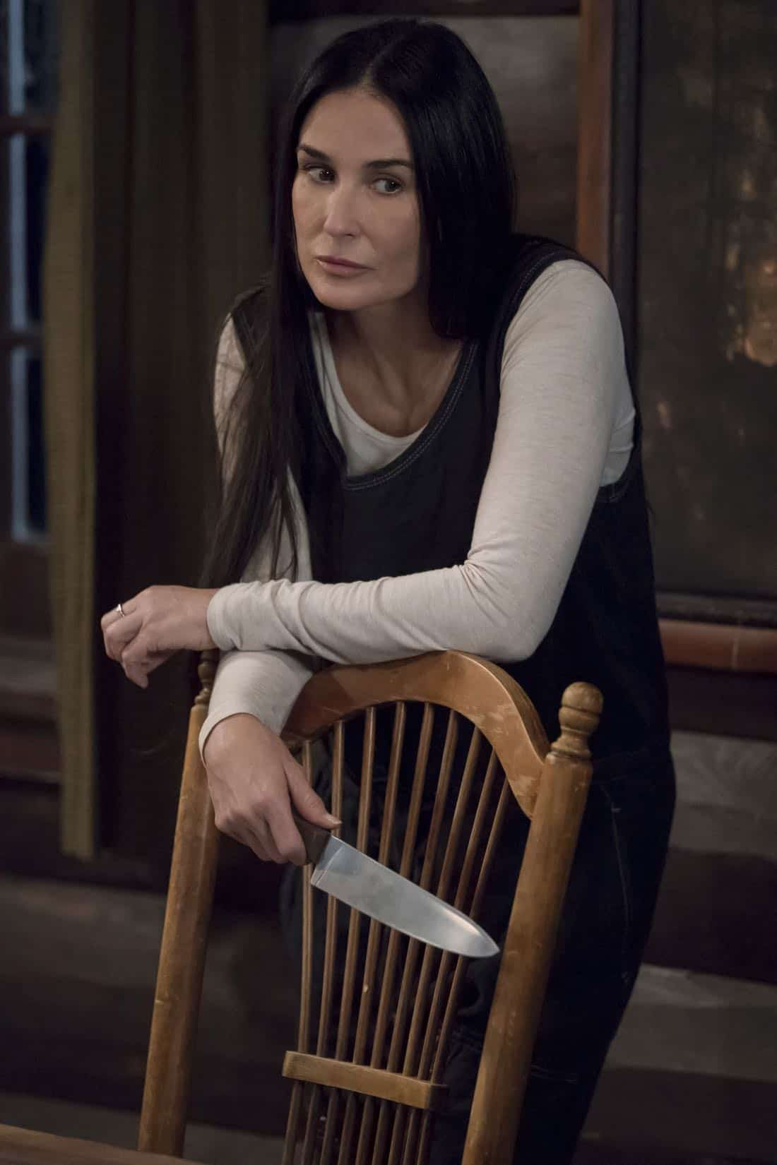 "EMPIRE: Guest star Demi Moore in the ""Birds in the Cage"" Spring premiere episode of EMPIRE airing Wednesday, March 28 (8:00-9:00 PM ET/PT) on FOX. ©2018 Fox Broadcasting Co. CR: Chuck Hodes/FOX"